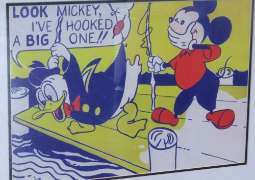 'Look Mickey'